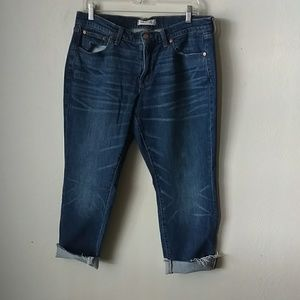 Madewell Slim Boyjean the raw hem edition sz 29